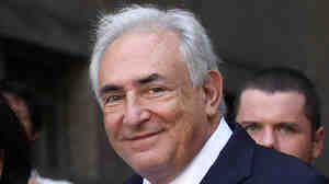 Former International Monetary Fund leader Dominique Strauss-Kahn leaves a hearing at New York State Supreme Court on Friday after being released on his own recognizance. Many wonder whether Strauss-Kahn, once a