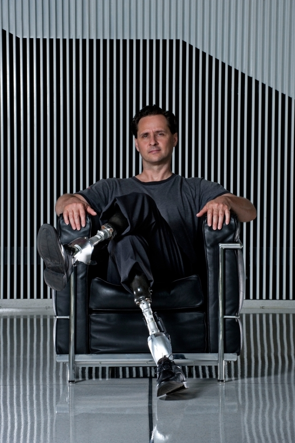 The Double Amputee Who Designs Better Limbs | WBUR News