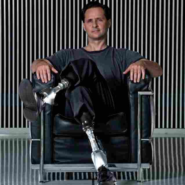 Hugh Herr is a biophysicist and rock climber. He is the holder or co-holder of 10 patents related to prosthetic devices.