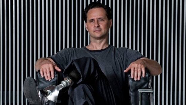 Hugh Herr is a biophysicist and rock climber. He is the holder or co-holder of 10 patents related to prosthetic devices. (Crown Business)