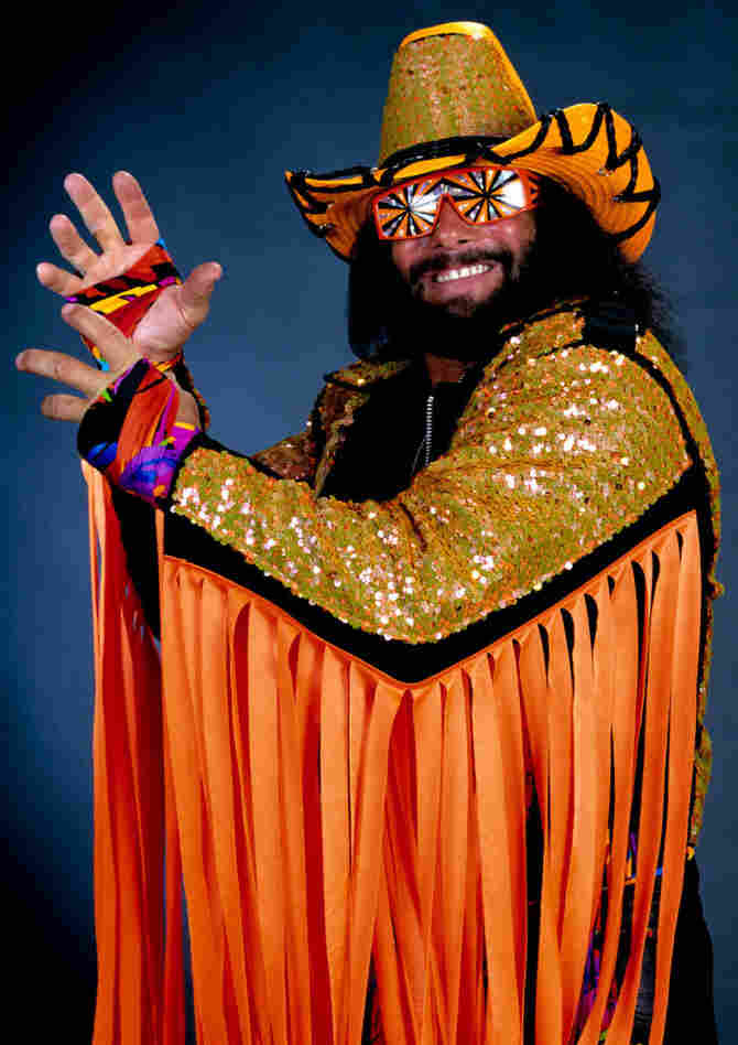 """Macho Man"" Randy Savage in his prime."
