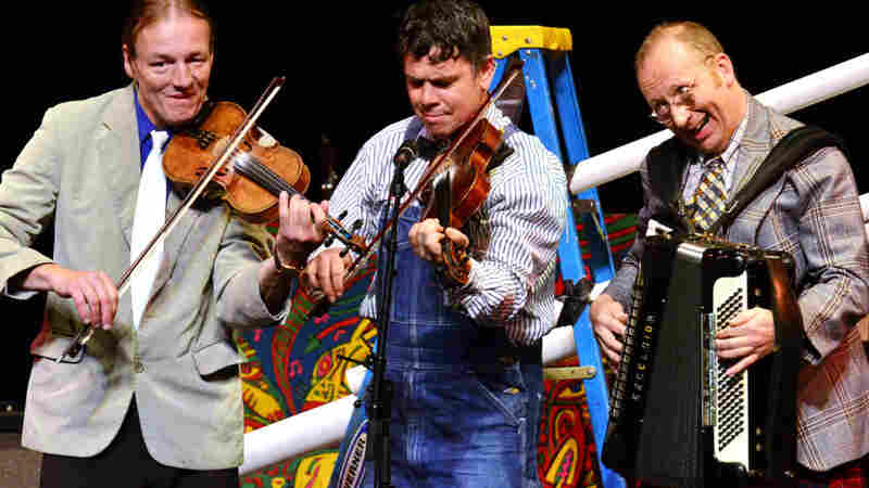 The New Rope String Band On Mountain Stage
