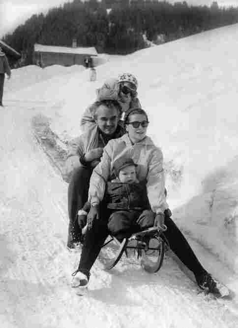 Albert II, the ruler of the tiny European nation, is the son of Hollywood star turned princess Grace Kelly and Prince Rainier III. Albert went sledding with his parents and sister Caroline during a winter vacation in Switzerland in February 1960.