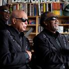 The Blind Boys Of Alabama perform a Tiny Desk Concert at the NPR Music offices.