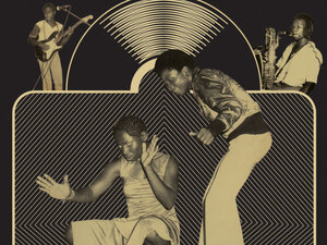 Art from the cover of Brand New Wayo: Funk, Fast Times and Nigerian Boogie Badness 1979-1983.
