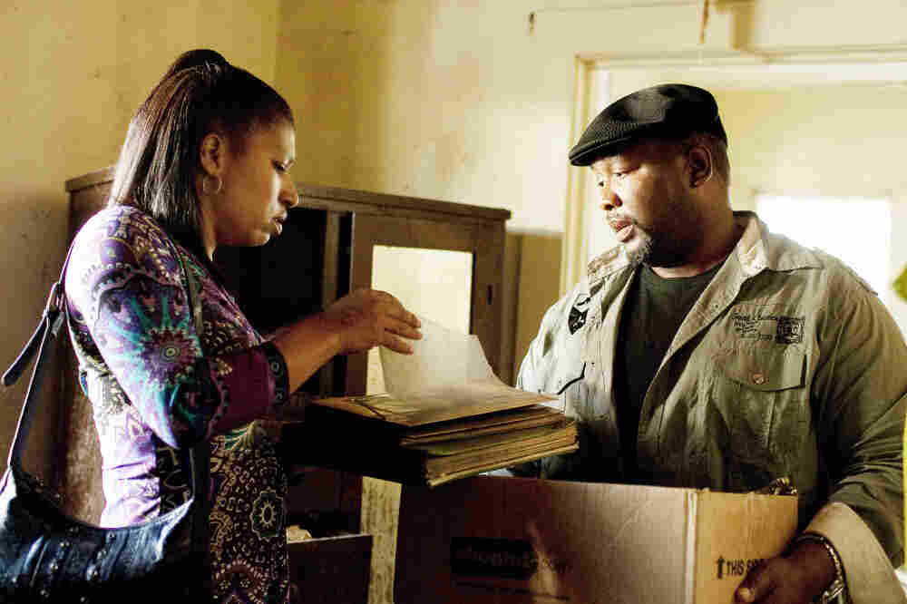 Antoine (Wendell Pierce) and his girlfriend Desiree (Phyllis Montana-LeBlanc) move on up in season two of Treme.