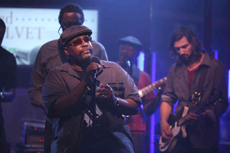 Wendell Pierce's Antoine Batiste became the lead singer of his own funk and so