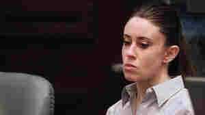 June 30, 2011: Casey Anthony listens to testimony during her murder trial in Orlando, Fla.