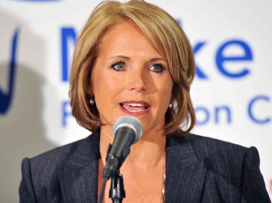 "Katie Couric at the ""Make That Call"" For Colon Cancer Screening campaign launch in New York in March."
