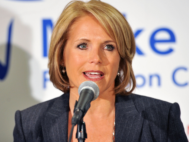 Katie Couric at the
