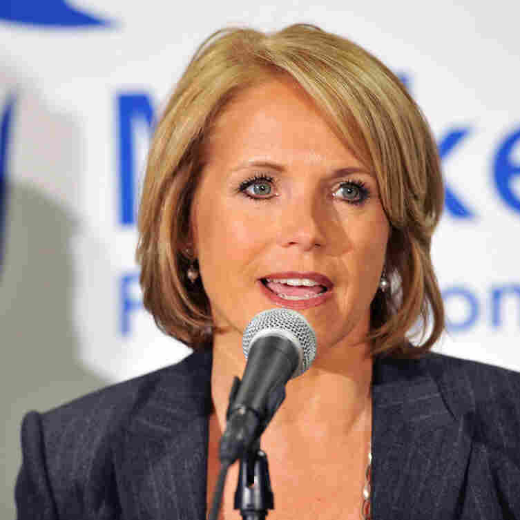 """Katie Couric at the """"Make That Call"""" For Colon Cancer Screening campaign launch in New York in March."""