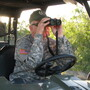 Mike Vickers runs the group Texas Border Volunteers, which patrols his ranch, and others in south Texas, that  complain of illegal immigrants trespassing. Vickers says he has found bodies of immigrants on his land.
