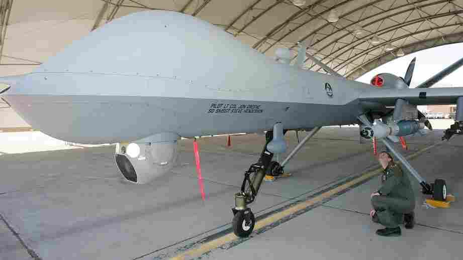 2007 file photo of a U.S. Air Force MQ-9 Reaper drone.