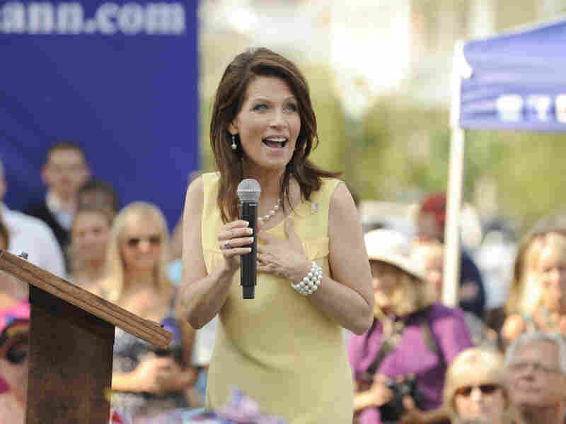 Republican presidential candidate Rep. Michele Bachmann speaks in Charleston, S.C.on June 29, 2011.