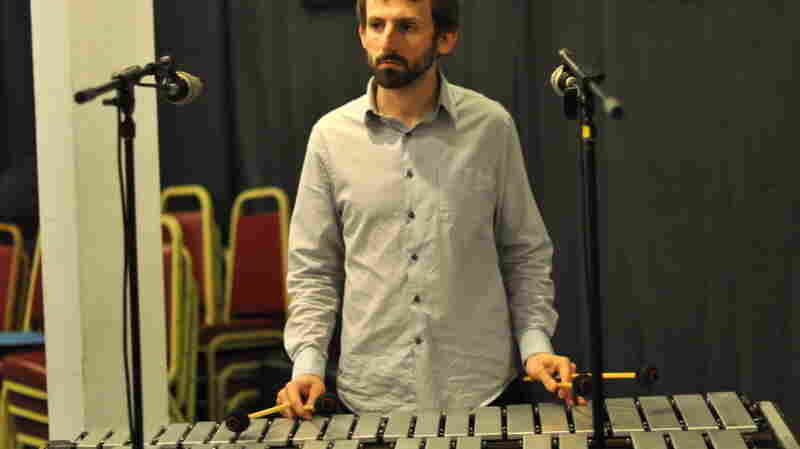 Vibraphonist Chris Dingman.