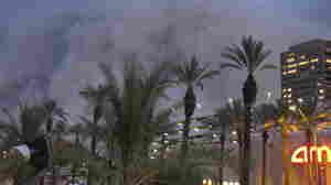 Massive Dust Storm Rolls Through Phoenix