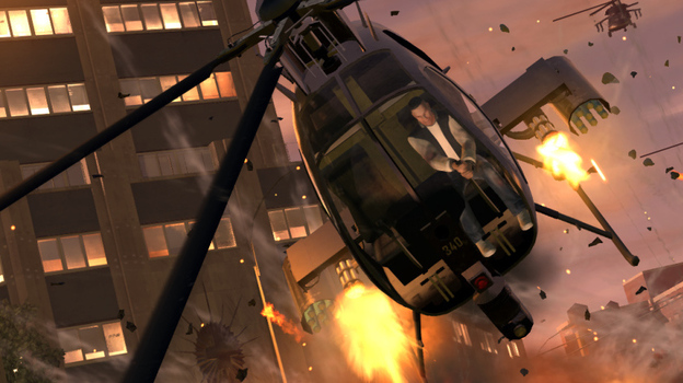 The research is contradictory — some scientists claim violent video games, like Grand Theft Auto, have an adverse effect on young people who play them while others see no such evidence. (Rockstar Games)