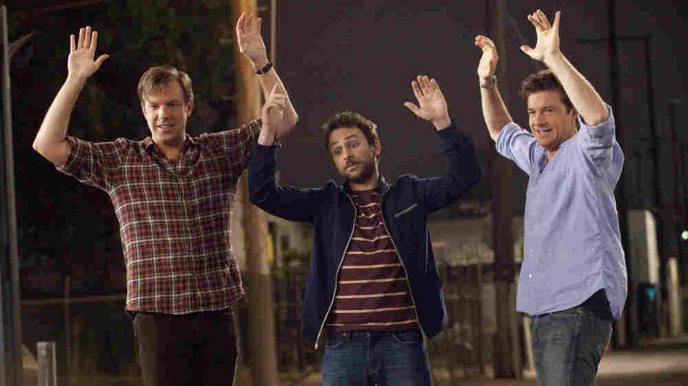 Who's The Boss: (L-R) Kurt (Jason Sudeikis), Dale (Charlie Day), and Nick (Jason Bateman) plot to murder their overbearing, lecherous and psychotic employers. Despite the promising premise, the film veers into cartoon territory alarmingly fast.