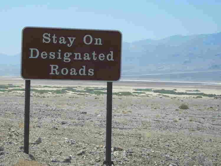 Sometimes signs like this aren't enough to dissuade drivers who are blindly following their GPS.