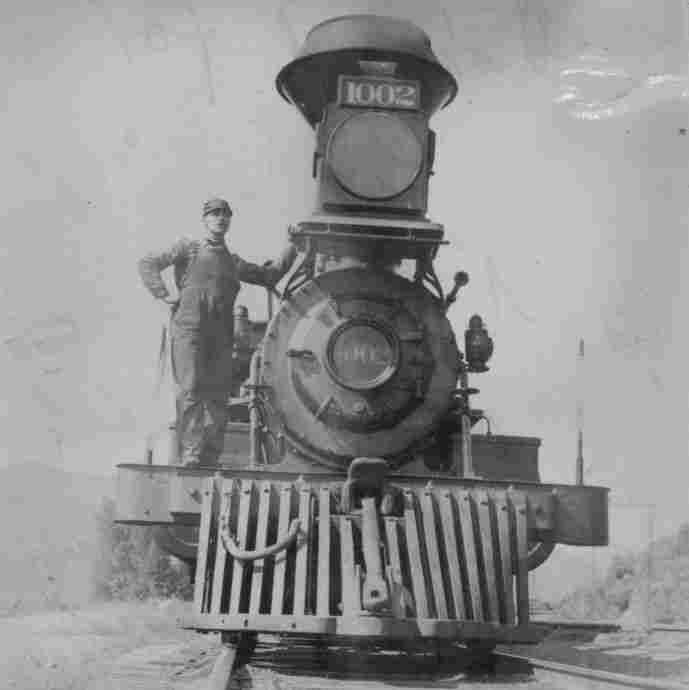 In Railroaded, Richard White describes how transcontinental rail companies shaped the American economy as they built tracks across the U.S. Above, a Union Pacific Rail Road  locomotive, pictured in Utah, circa 1894.