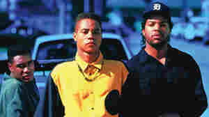 Boyz N The Hood, made by John Singleton in 1991, was the story of three friends — played by(from left) Morris Chestnut, Cuba Gooding, Jr. and Ice Cube – growing up in South Central Los Angeles.