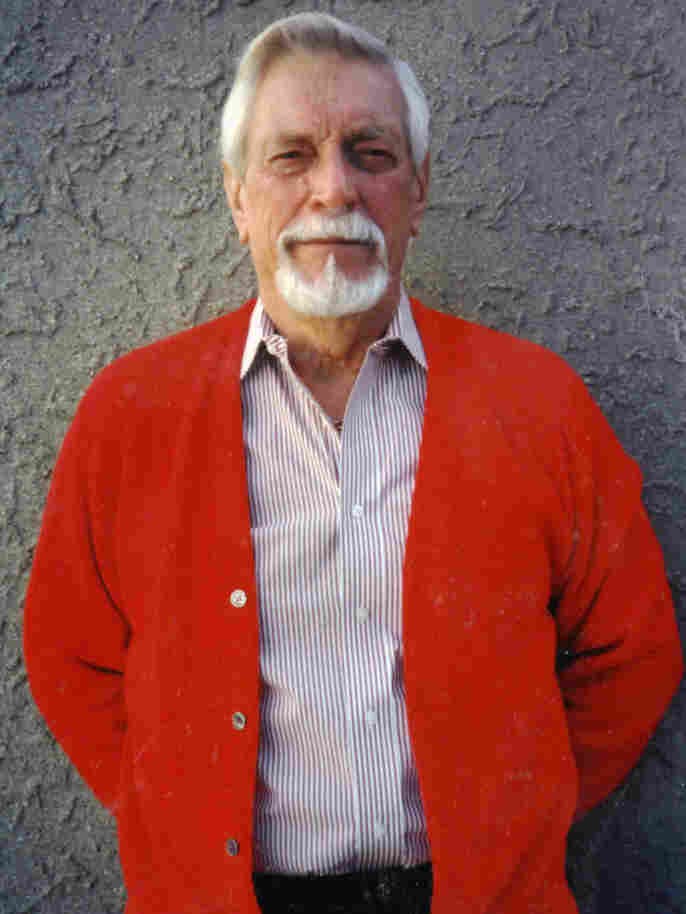 Charles Brooks poses for a photograph in 1995, before he was diagnosed with Alzheimer's.