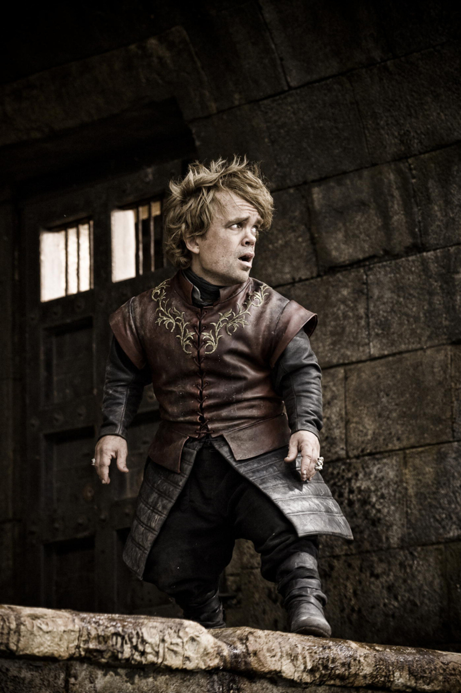 One of A Dance with Dragons' central characters is the dwarf Tyrion, who is also featured in the HBO series, Game of Thrones. Peter Dinklage plays the quick-witted Tyrion — with obvious relish — on  the series. (HBO)