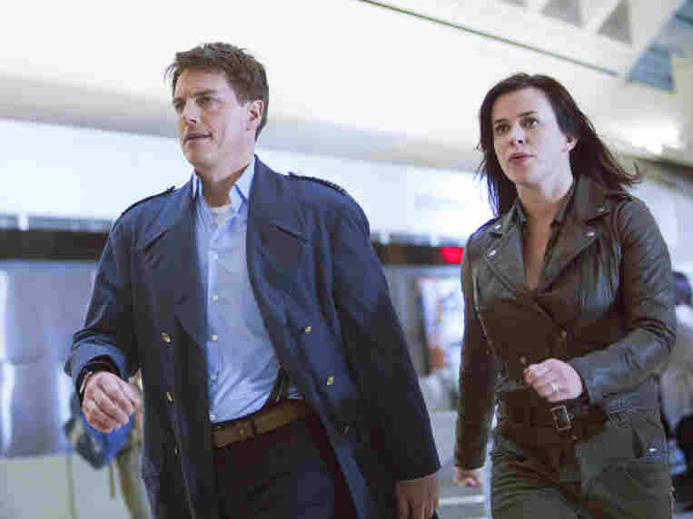 John Barrowman and Eye Myles have moved to America in the latest season of Torchwood — but that's not the only thing that's changed. The duo are now at the center of a worldwide mystery: No one on Earth is dying.