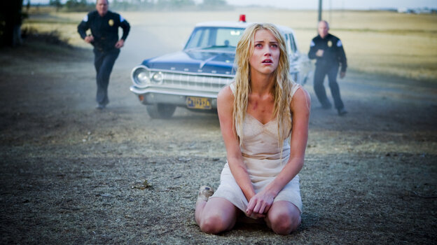Warding Off Spirits: Kristen (Amber Heard) is committed to a women's asylum after setting fire to an abandoned farmhouse. The true nature of her past and of the demons that follow her through the ward are eventually revealed through shockingly silly twists.