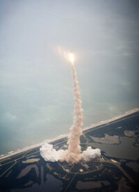 The Atlantis launch marks the end of the 30-year-old NASA space shuttle program.