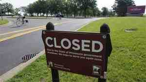 Because of the government shutdown, all state parks around Minnesota are closed, including Fort Snelling historic site in Minneapolis.