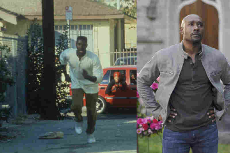 Chestnut's first major movie role was as Ricky in Boyz N The Hood. This year, Chestnut starred in the ABC television series V, which was canceled after the end of its second season. Credits: Sony Pictures Home Entertainment and Sergei Bachlakov/ABC
