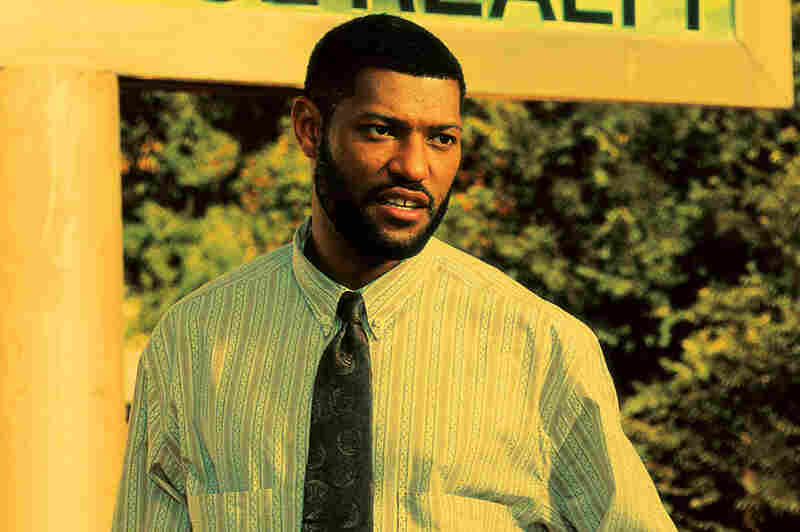 Laurence Fishburne, a 20-year veteran of screen acting, played Tre's father, Furious Styles. Credit: Sony Pictures Home Entertainment