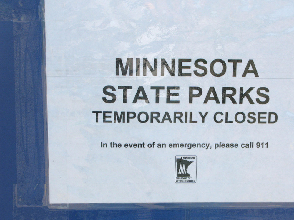 Afton State Park is one of the victims of Minnesota's government shutdown.