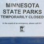 With the state government shuttered, Minnesota's parks endure neglect and vandalism.