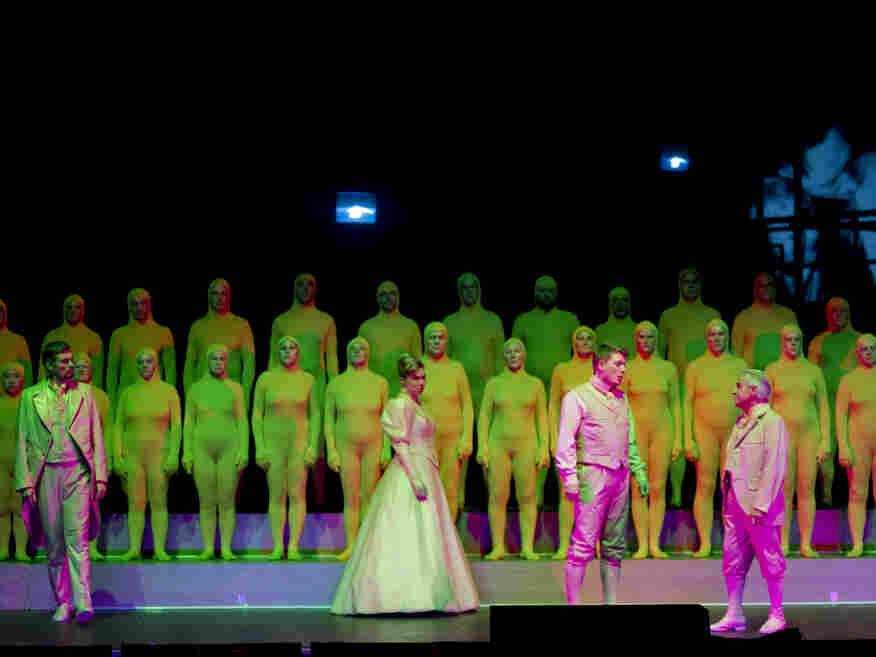German stage director Christoph Schlingensief died of cancer two days before performances of Jens Joneleit's Metanoia—über das Denken hinaus were scheduled to begin.