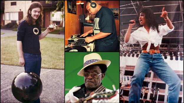 Roky Erickson, DJ Screw, Lightin' Hopkins, and Selena.