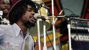Peter Tosh performs at the University of Miami in 1976.