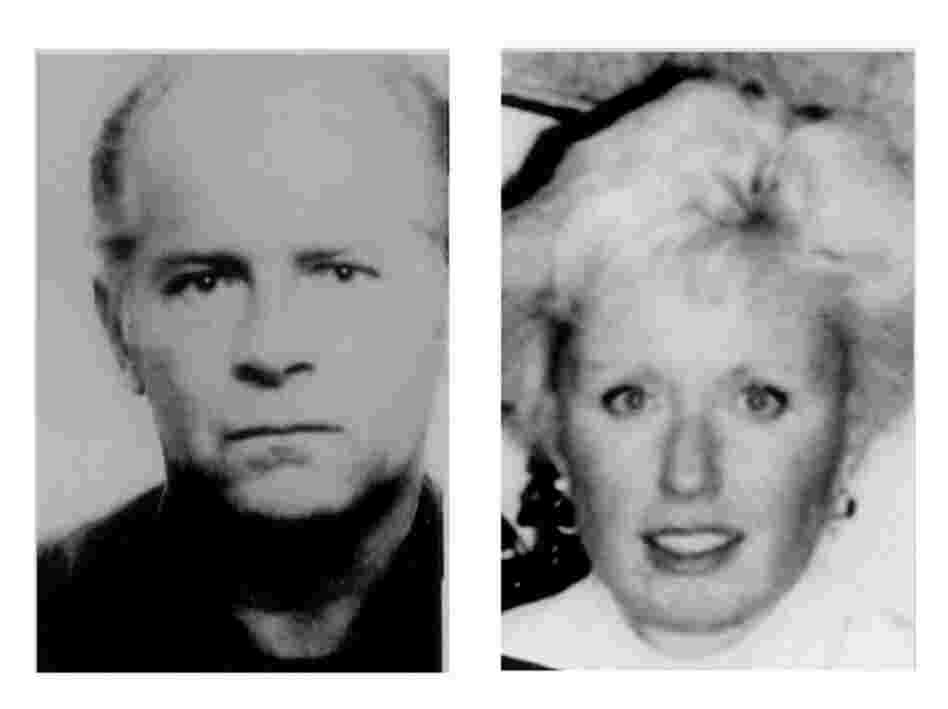 "Massachusetts mobster James ""Whitey"" Bulger (left), and his girlfriend, Catherine Greig (right), are shown in FBI photos taken in the 1980s. They were captured near Los Angeles, authorities said in June."