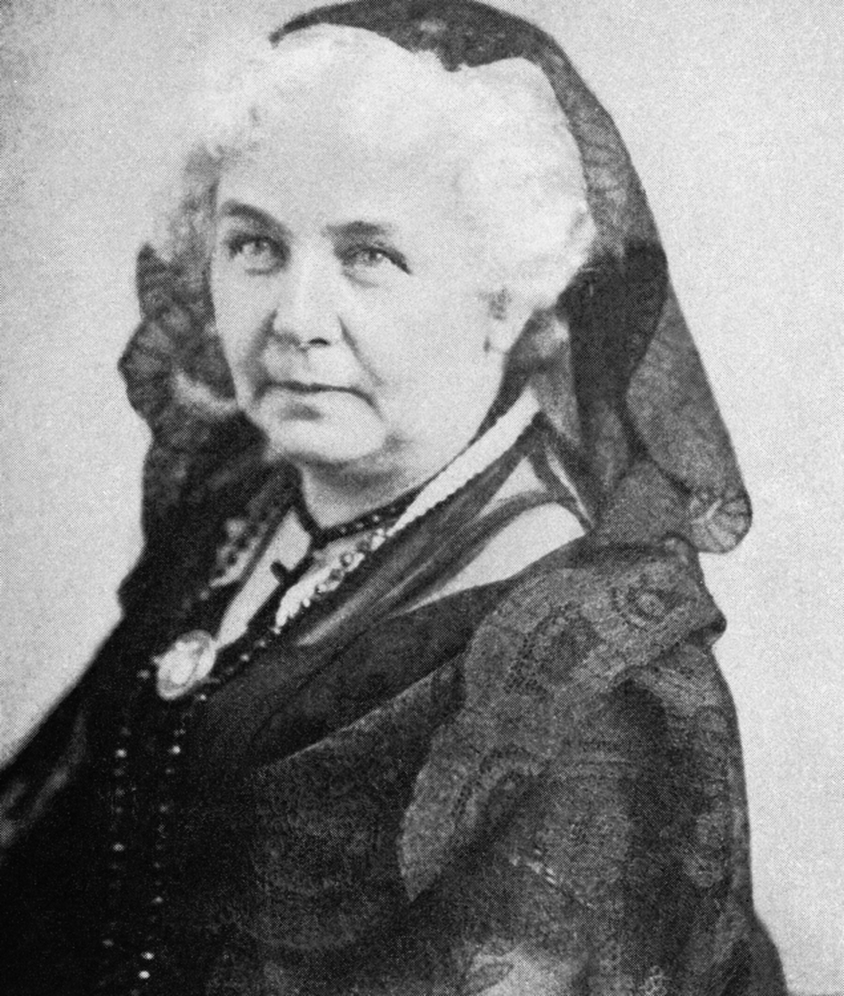 Elizabeth Cady Stanton helped organize the world's first women's rights convention in Seneca Falls, N.Y., in 1848, but historian Lori Ginzberg argues that Stanton wasn't necessarily fighting for <em>all</em> women's rights. (AP)
