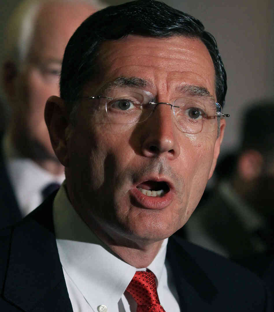 Sen. John Barrasso of Wyoming is one of many lawmakers who opposes the the new Independent Payment Advisory Board.