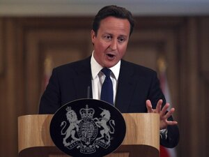 Prime Minister David Cameron on Friday promised a full investigation into the hacking and bribery that lead to the collapse of the News of the World. Declaring that self-regulation of the press had failed, Cameron said a new body independent of the government and the news industry was needed to regulate newspapers in place of the Press Complaints Commission.
