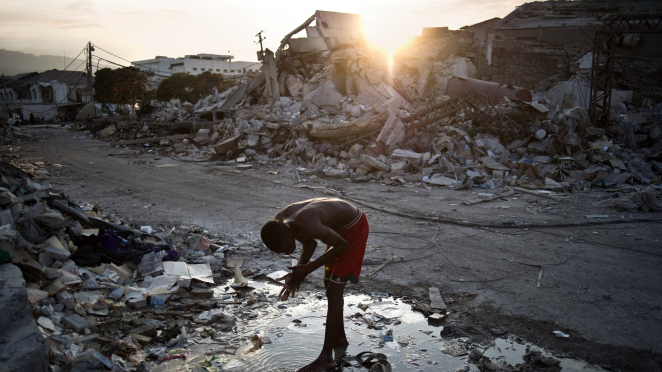 haiti surviving after the earthquake Miracle boy survivor of the haiti earthquake kenneth miller may 25 an estimated 100,000 children were left orphaned by the january 2010 earthquake in haiti, but kiki, luckily, is not one of them.