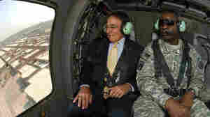 In Iraq, Panetta Has Tough Words On Troop Deadline