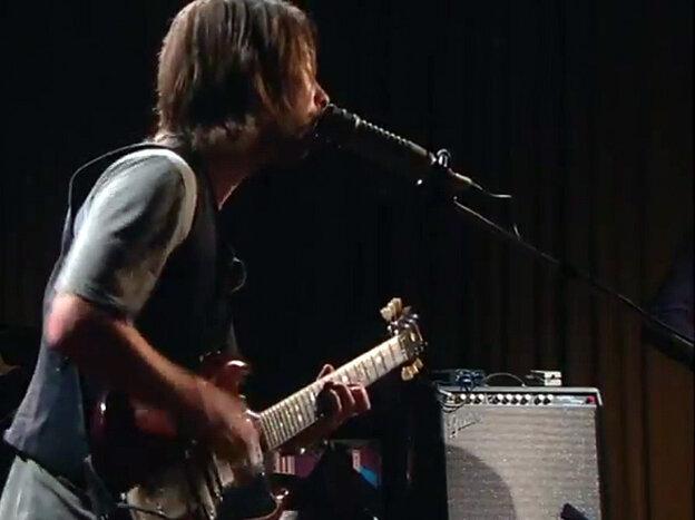 Radiohead live in studio