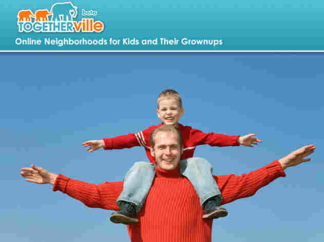 Togetherville is one site for kids recommended by Common Sense Media.