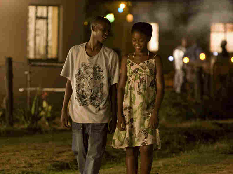 Mandla Ernest Mokoena (Sipho) and Khomotso Mankaya (Chanda) navigate their home country while speaking their native tongue. Director Oliver Schmitz fails to highlight the political roots of South Africa's HIV epidemic, creating an incomplete portrait of a troubling societal problem.