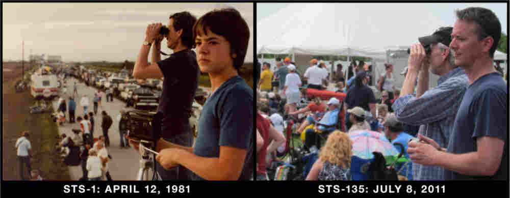 Father and Son: STS-1 and STS-135
