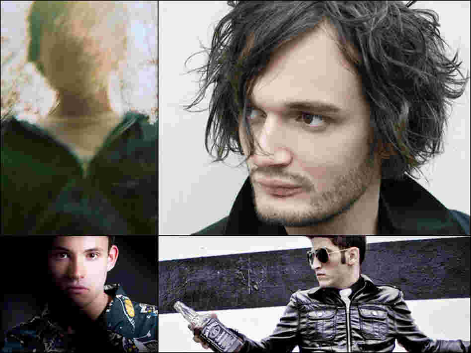 Clockwise from top left: Balam Acab, Apparat, Danny Daze, Hudson Mohawke.