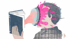 Illustration: A hand reaches out of a book to throw a pie into the reader's face.